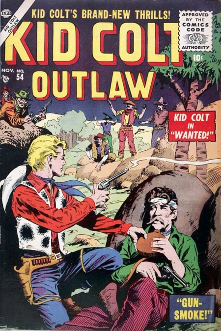 Kid Colt Outlaw 54 Cover Image