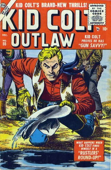 Kid Colt Outlaw 55 Cover Image