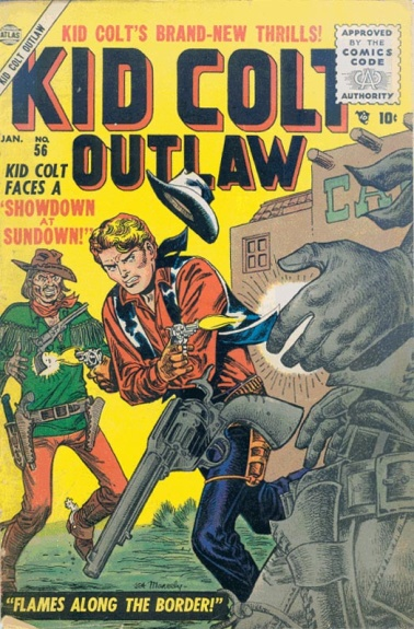 Kid Colt Outlaw 56 Cover Image