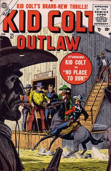 Kid Colt Outlaw 57 Cover Image