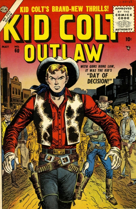 Kid Colt Outlaw 60 Cover Image