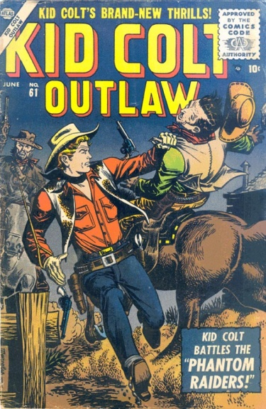 Kid Colt Outlaw 61 Cover Image