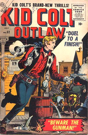 Kid Colt Outlaw 62 Cover Image