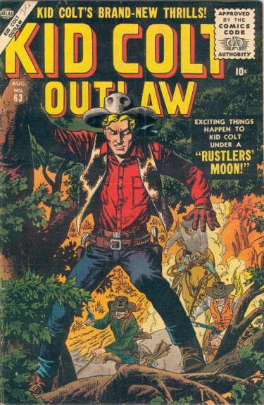 Kid Colt Outlaw 63 Cover Image