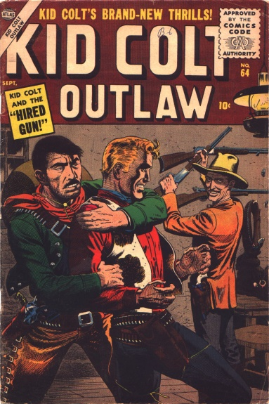 Kid Colt Outlaw 64 Cover Image