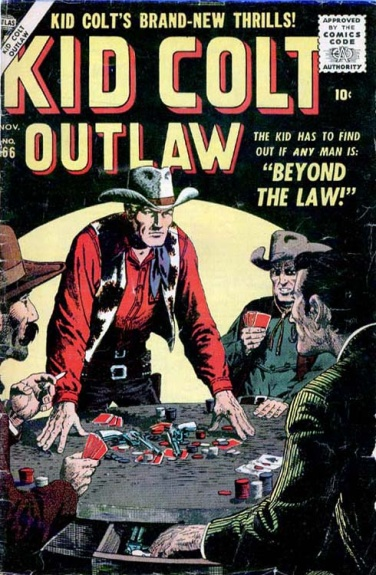 Kid Colt Outlaw 66 Cover Image