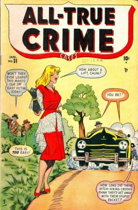 All True Crime Cases Comics 31 Cover Image