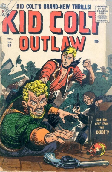 Kid Colt Outlaw 67 Cover Image