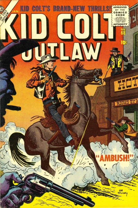Kid Colt Outlaw 68 Cover Image