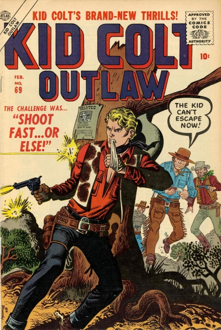 Kid Colt Outlaw 69 Cover Image