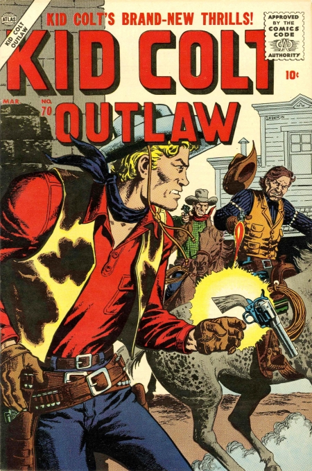 Kid Colt Outlaw 70 Cover Image