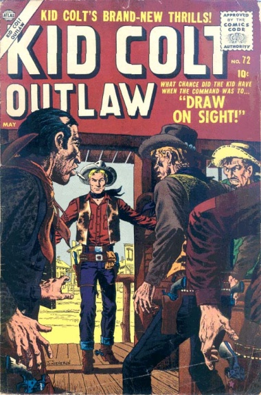 Kid Colt Outlaw 72 Cover Image