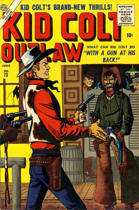 Kid Colt Outlaw 73 Cover Image