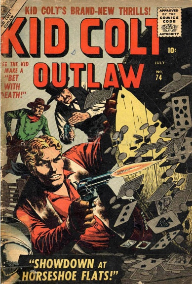 Kid Colt Outlaw 74 Cover Image