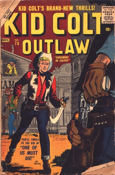 Kid Colt Outlaw 75 Cover Image