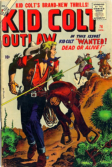 Kid Colt Outlaw 76 Cover Image