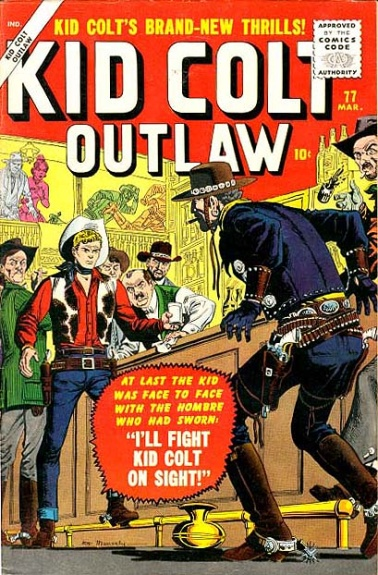 Kid Colt Outlaw 77 Cover Image