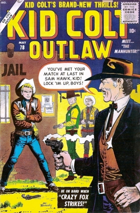 Kid Colt Outlaw 78 Cover Image