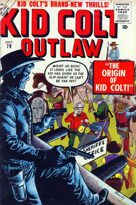 Kid Colt Outlaw 79 Cover Image