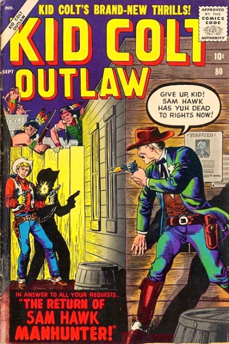 Kid Colt Outlaw 80 Cover Image
