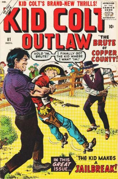 Kid Colt Outlaw 81 Cover Image