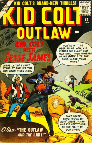 Kid Colt Outlaw 82 Cover Image