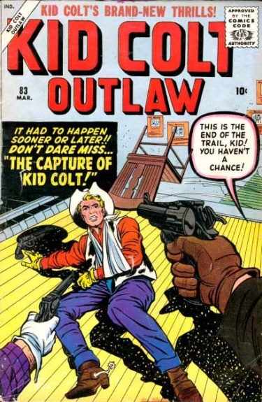 Kid Colt Outlaw 83 Cover Image