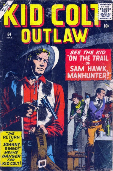 Kid Colt Outlaw 84 Cover Image