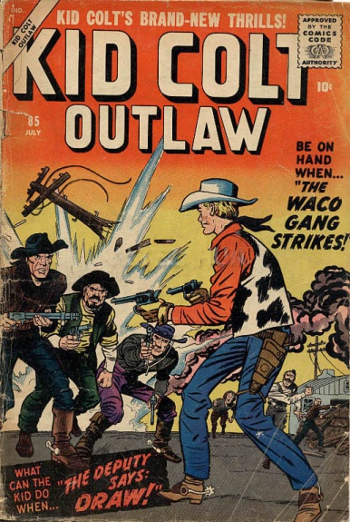 Kid Colt Outlaw 85 Cover Image