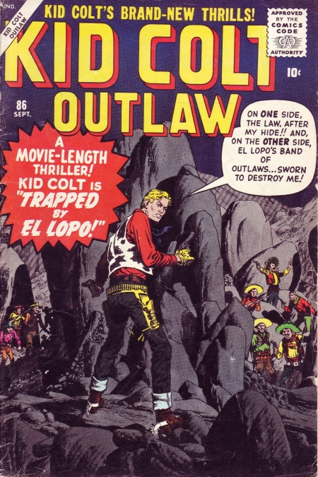 Kid Colt Outlaw 86 Cover Image