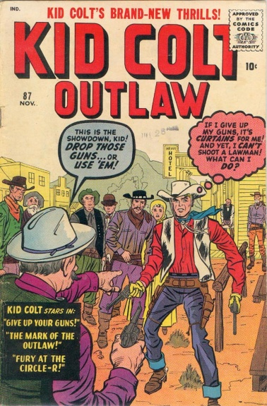 Kid Colt Outlaw 87 Cover Image