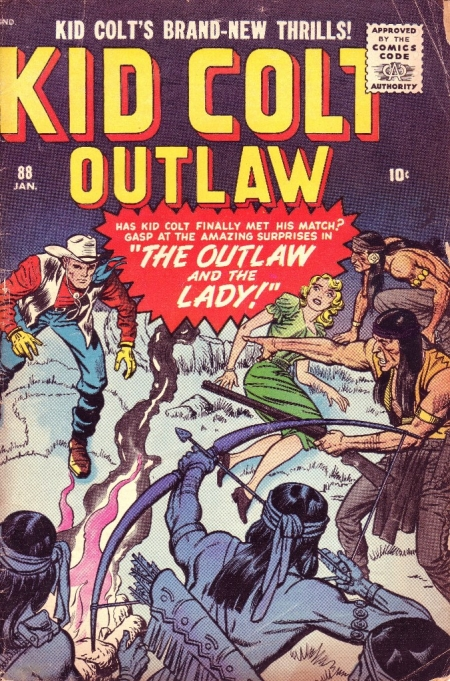 Kid Colt Outlaw 88 Cover Image