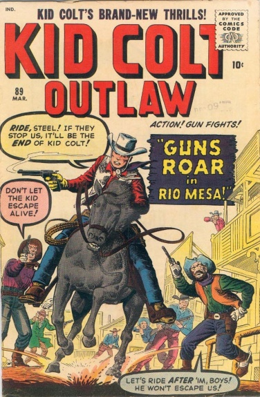 Kid Colt Outlaw 89 Cover Image