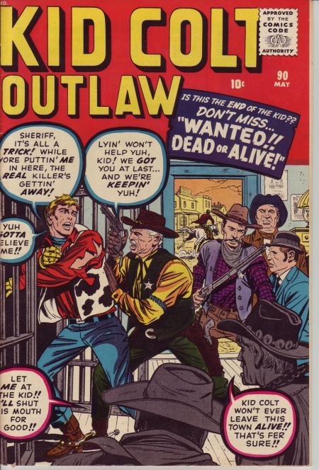 Kid Colt Outlaw 90 Cover Image
