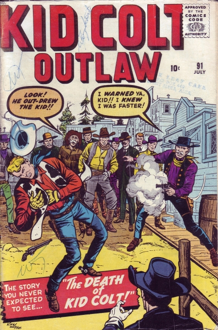 Kid Colt Outlaw 91 Cover Image