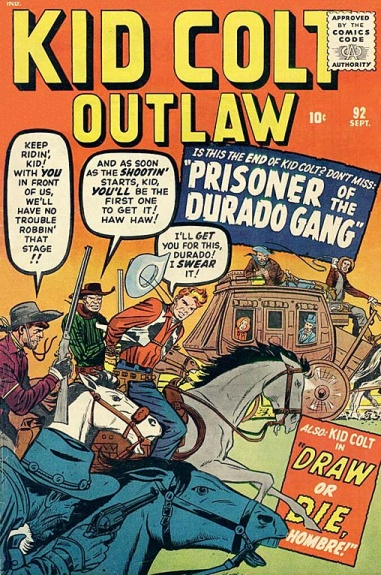 Kid Colt Outlaw 92 Cover Image