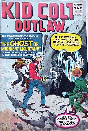 Kid Colt Outlaw 93 Cover Image