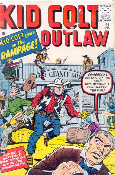 Kid Colt Outlaw 95 Cover Image