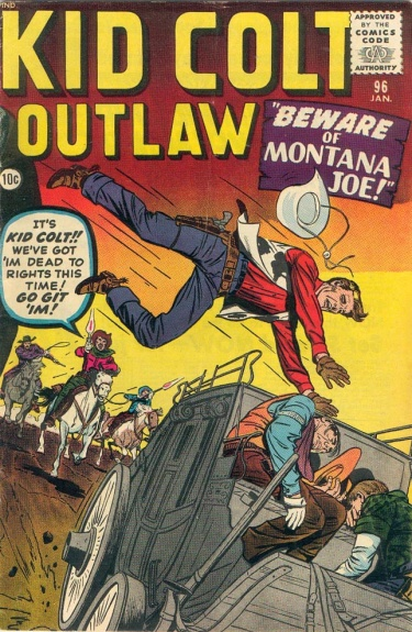 Kid Colt Outlaw 96 Cover Image