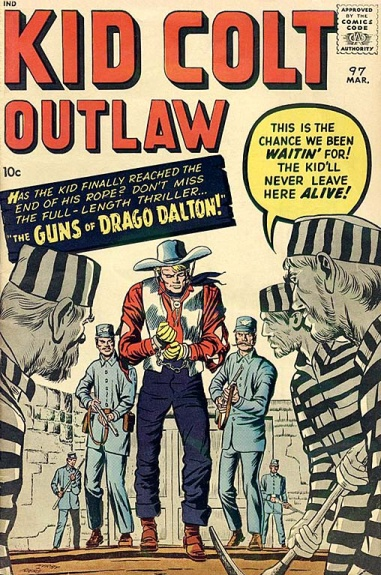 Kid Colt Outlaw 97 Cover Image