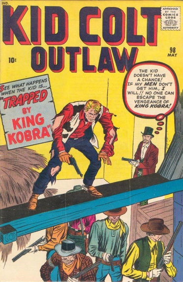 Kid Colt Outlaw 98 Cover Image