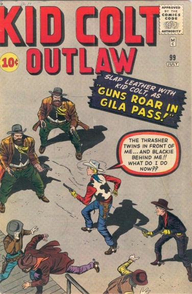 Kid Colt Outlaw 99 Cover Image