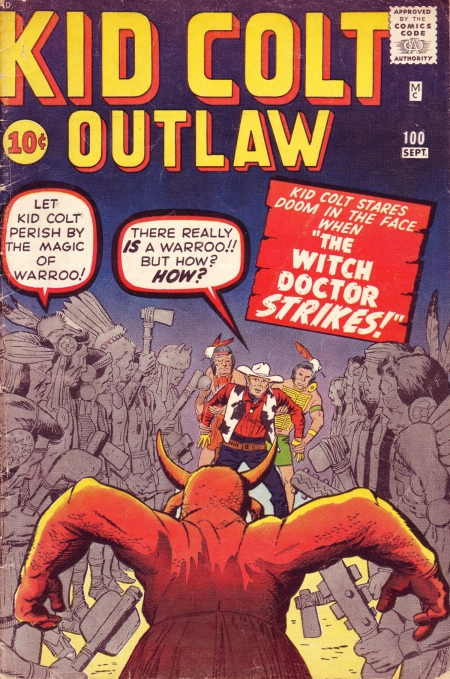Kid Colt Outlaw 100 Cover Image