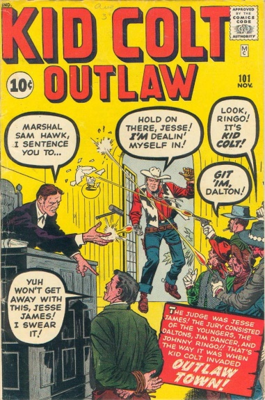 Kid Colt Outlaw 101 Cover Image