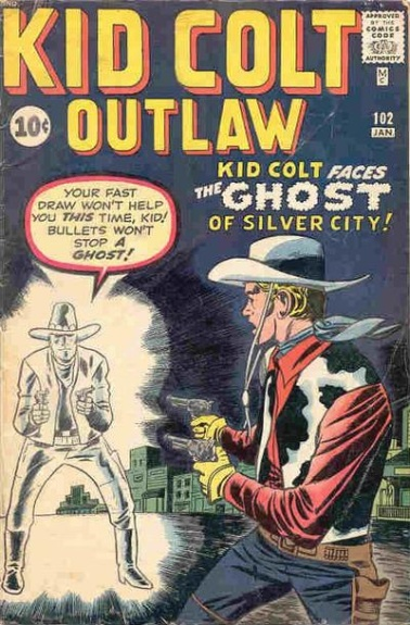 Kid Colt Outlaw 102 Cover Image