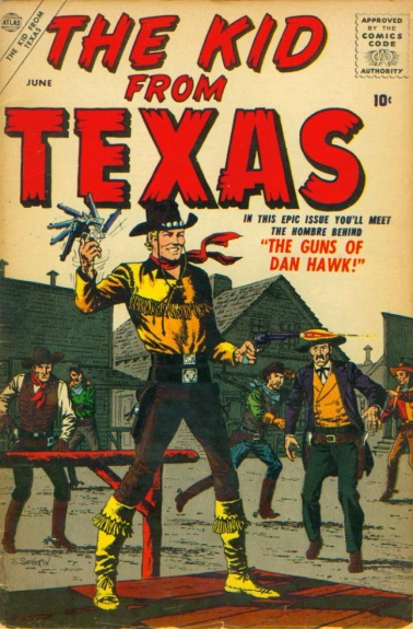 The Kid from Texas 1 Cover Image