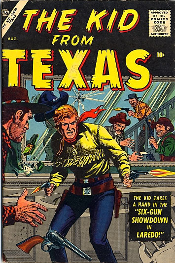 The Kid from Texas 2 Cover Image