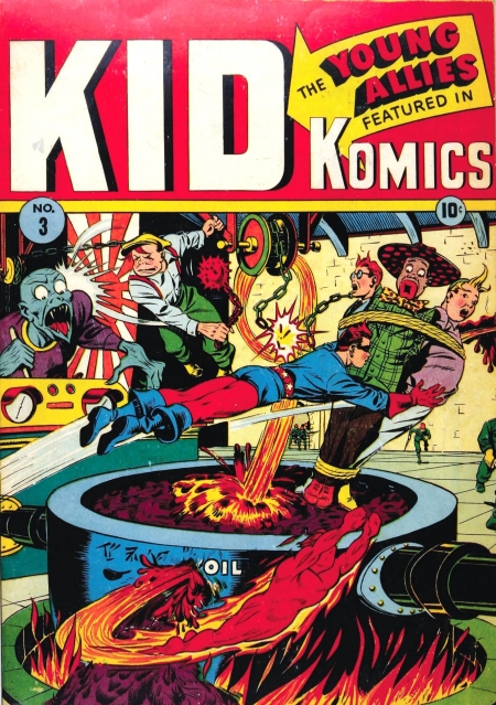 Kid Komics 3 Cover Image