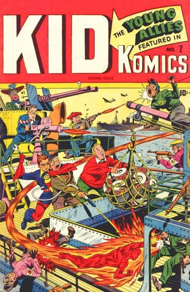 Kid Komics 7 Cover Image
