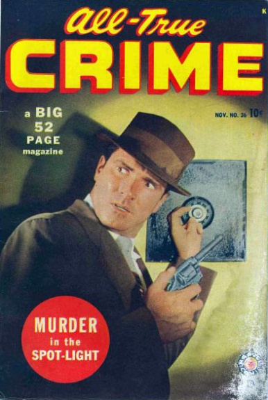 All True Crime Cases Comics 36 Cover Image